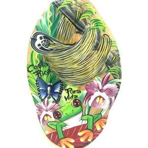Pure Vida Rainforest Animals Wood Wall Decor